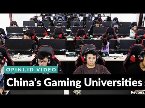 #1MINUTE | China's Gaming Universities