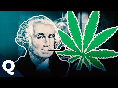 Джордж вашингтон сад марихуана конопля подросток