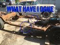 What Have I Done?  1956 Buick Frame Swap Part #1 : Just A Gearhead Ep #27