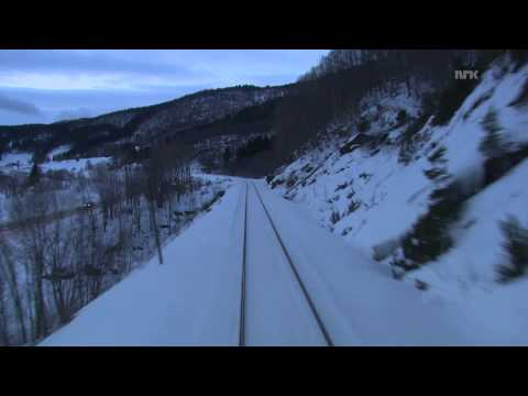 nordlandsbanen  minutt for minutt winter 06 nrk