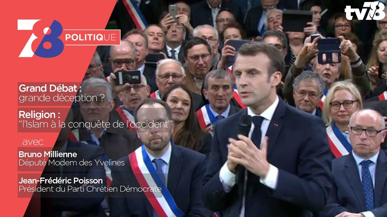 7/8 Politique. émission de janvier 2019