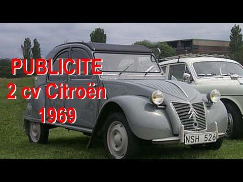 Publicité,  Réclame (1969) 2 CV Citroen