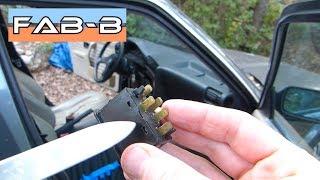 Recherche de panne lève vitre électrique BMW E30