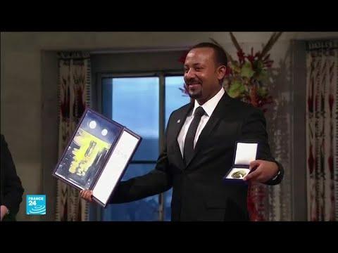 رئيس وزراء إثيوبيا آبي أحمد يتسلم جائزة نوبل للسلام  - نشر قبل 2 ساعة
