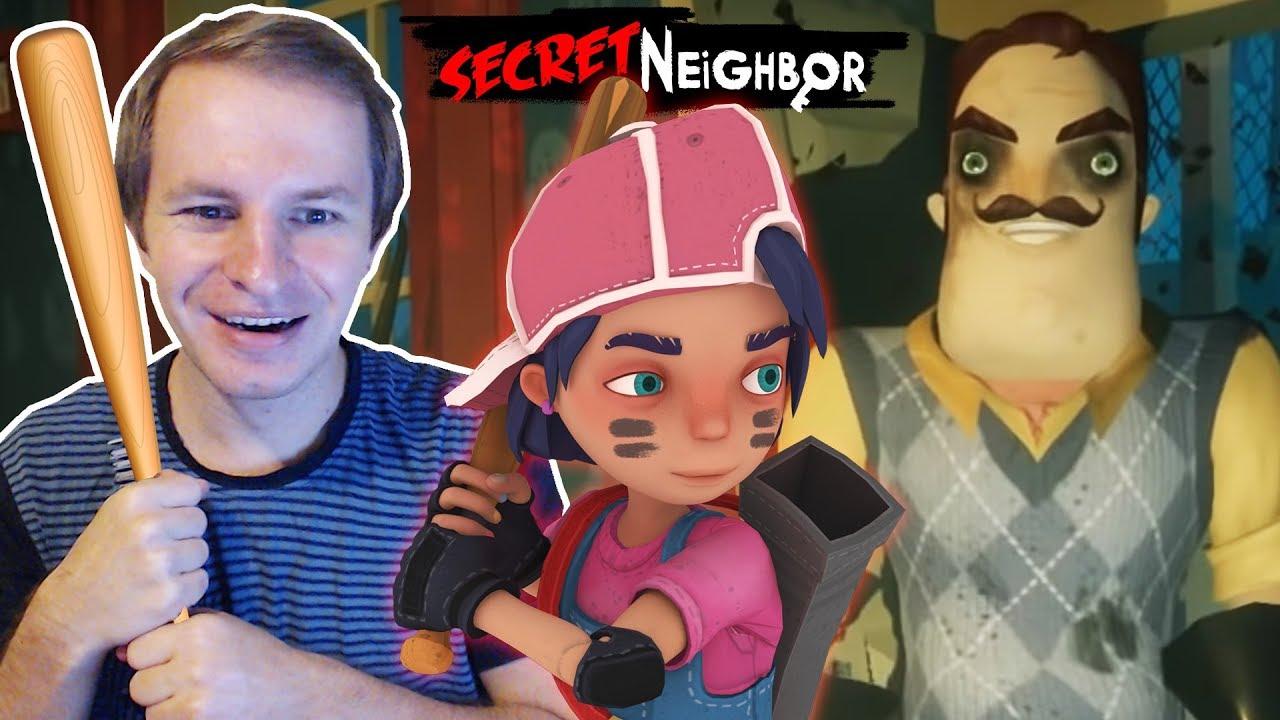 Secret Neighbor Beta   Обзор персонажа Брэйв (BRAVE) - YouTube