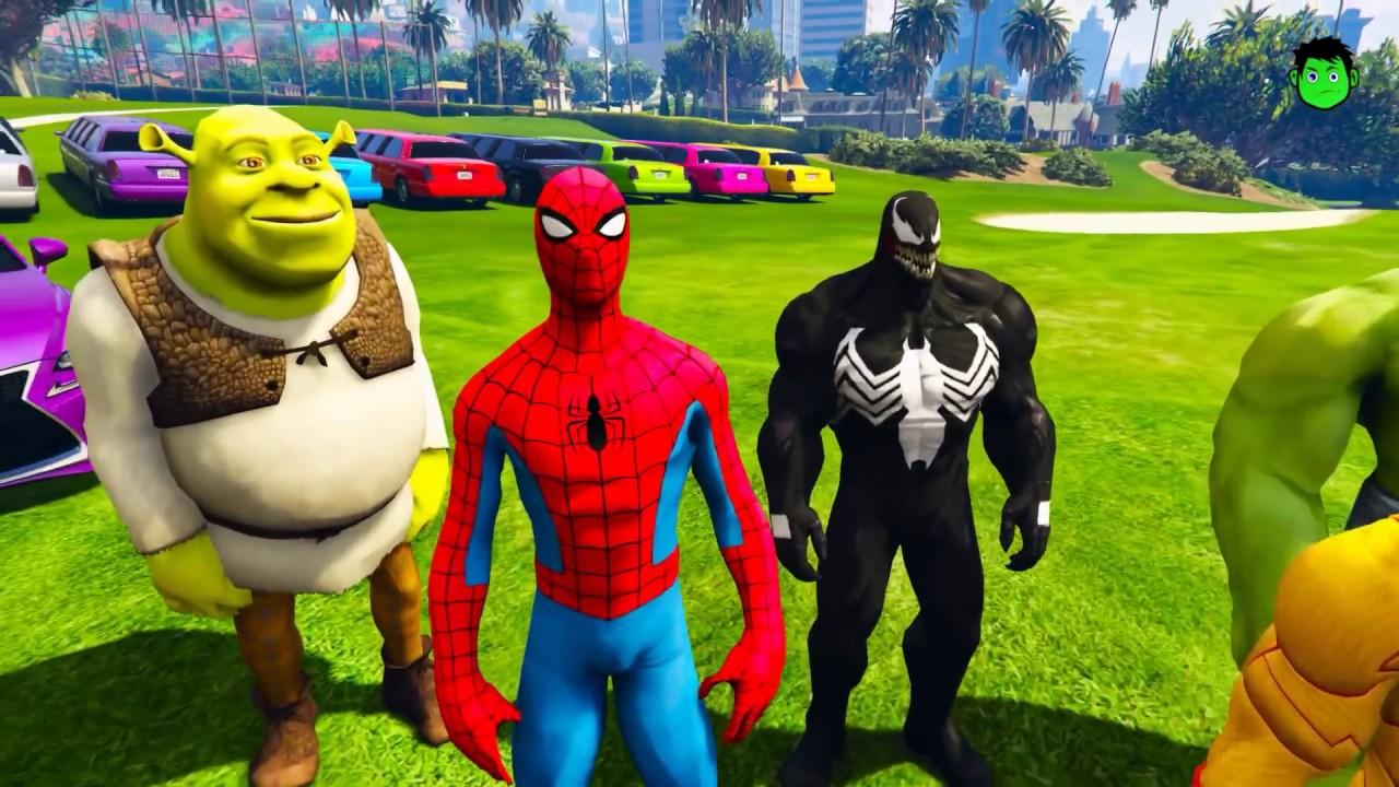 Новые серии.Человек паук и его друзья.Мотоциклы.Маша и ...