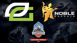 Halo - Optic Gaming vs. Noble Black - Halo Championship Series - Season 1 - LB R1