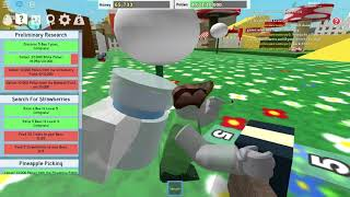 """I was in a """"itsfunnelawsomeguy"""" video roblox bee sim capture"""
