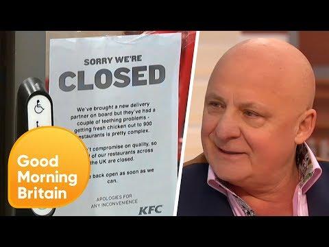 The KFC 'Chicken Crisis'   Good Morning Britain