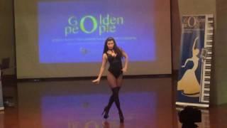 """Танцевальный фестиваль  """"Golden people"""" Стрип пластика. Sexy strip prof"""