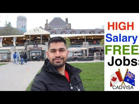 HIGH SALARIES FREE JOBS IN CANADA 2019