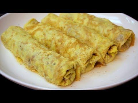 客家有名的蛋皮肉卷!详细的做法步骤,简单美味,过年待客硬菜哦