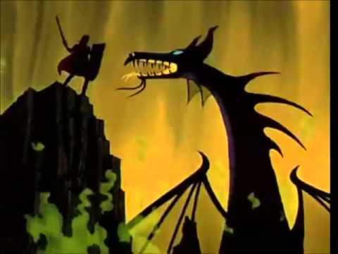 sleeping beauty philip vs maleficent wvoice clips