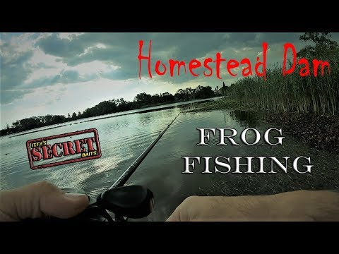 Bass Fishing At Homestead Dam 1hr Challenge