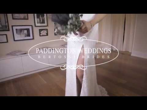 Sarah Bertossi Brides gown from Paddington Weddings