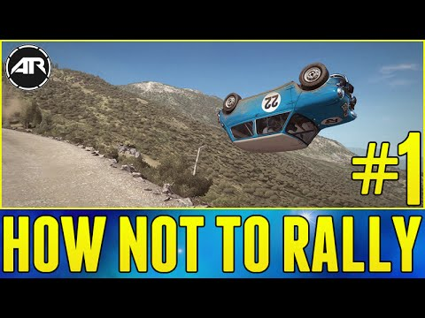dirt rally xbox one gameplay how not to rally let 39 s. Black Bedroom Furniture Sets. Home Design Ideas