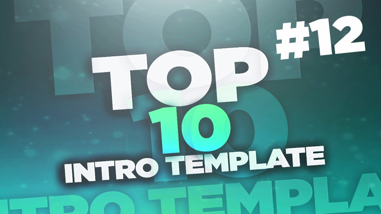 12|top 10 intro template sony vegas pro 12 + free download - youtube, Powerpoint templates