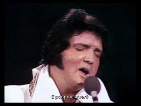 How Great Thou Art (Live 77) - Elvis Presley (Sottotitolato)
