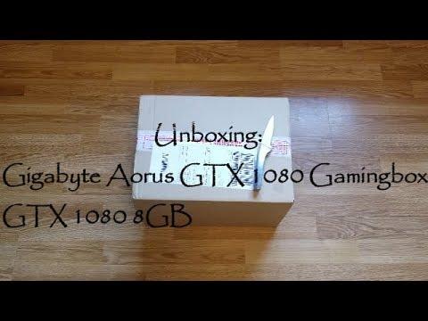 Unboxing  Aorus GTX 1080 Gaming Box EGPU( Vs Razer Core )