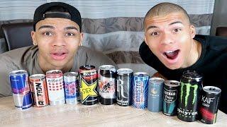 TEUER VS GÜNSTIG !!! Energy Drink Challenge | PrankBrosTV
