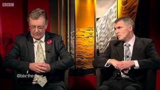 Nesbitt and Kearney go head to head on Gerry Adams