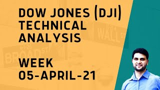 Dow Jones (DJI) Technical Analysis - Week 05-April-2021