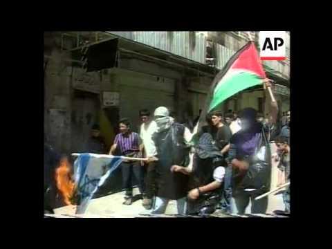 West Bank - Hamas Mass Wedding / Clashes In Hebron