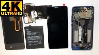 Xiaomi Mi8 Lite    разборка замена экрана  Disassembly LCD Replacement