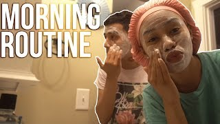 OUR MORNING ROUTINE!! (COUPLE EDITION)
