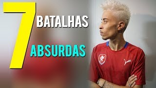 7 BATALHAS mais ABSURDAS do CHOICE