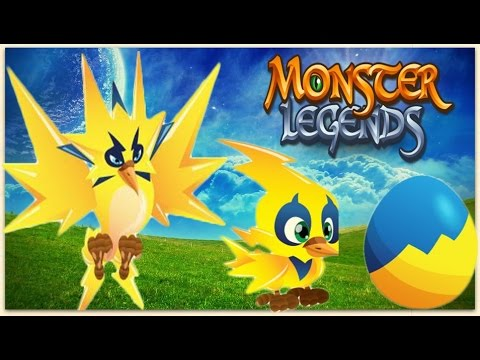 monster legends thunder