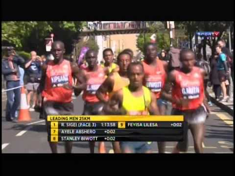Maratona de Londres - masculina - 2014