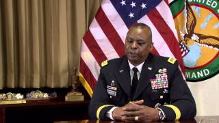 Gen lloyd austin is featured as part of the 2015 mission first project.