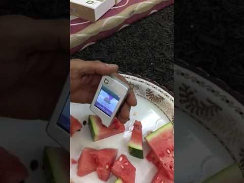 90b8972a3  جهاز لفحص نسبة السكر الموجودة في الفواكه ومقارنتها بالمعدل الطبيعي -  YouTube