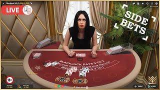 ♣️ Blackjack VIP O incl. side bets   A depressing session ♣️