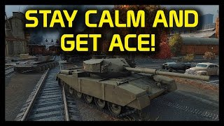 ► World of Tanks: Stay Calm, Drink Coffee and Carry Gamez! - T110E3 and FV4202 Gameplay