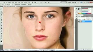 En Basit Yüz Temizleme -Photoshop