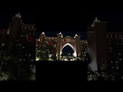 Atlantis Hotel, The Palm Dubai| Night View| #Shorts #Shortvideo @Easy Learning With Shahid