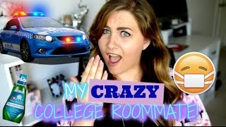 I GOT A RESTRAINING ORDER AGAINST MY CRAZY COLLEGE ROOMMATE! Story Time