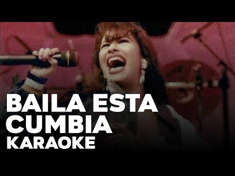 Baila esta cumbia- Selena Quintanilla- Karaoke