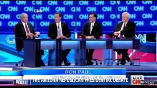 Rick Santorum Slammed by Mitt Romney, Ron Paul in Final GOP Debate on CNN