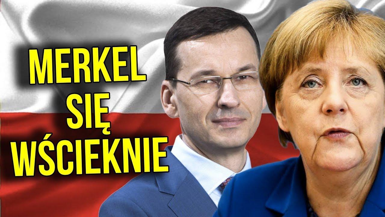 Merkel się WŚCIEKNIE – Morawiecki powoła PEŁNOMOCNIKA ds. REPARACJI od NIEMIEC.