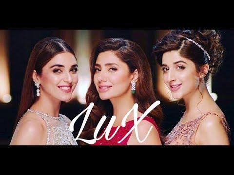 LuX new commercial ad mahira Khan mawra hocane Maya sheheryar munawar ali12 July 2017