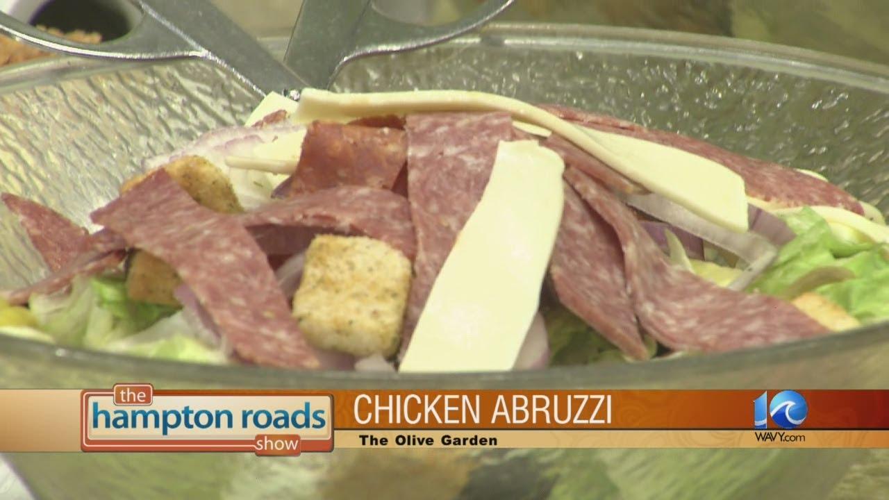 Chicken Abruzzi prepared by Brian Alfano from The Olive Garden - YouTube