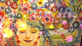 『ART GIRL』とは、五十嵐めぐみとライブペイント担当の伊倉 真理恵を軸...
