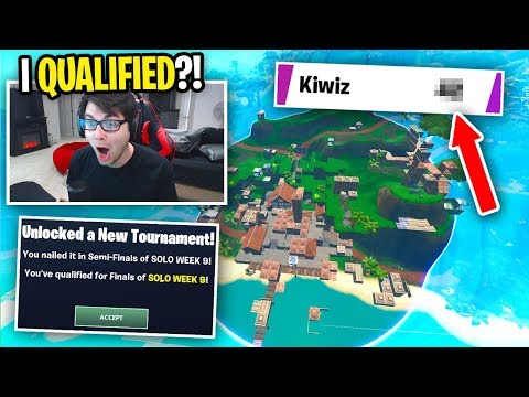 I qualified for World Cup SOLO Finals... (final week)