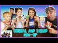 CEREAL AND LIQUID MIX-UP CHALLENGE / That YouTub3 Family