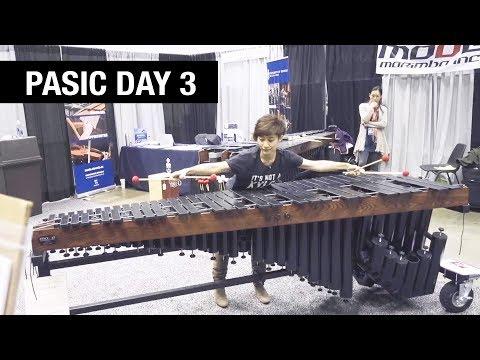 FROZEN on 5-octave marimba... (PASIC 2017 Final Day)