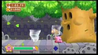 Kirby's Dream Collection New Challenge Stages 100% Speedrun (1:02:36)