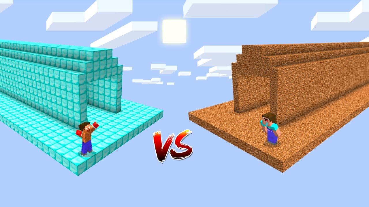 HEROBRİNE UZAY TÜNEL VS NOOB UZAY TÜNEL! - 😱 - Minecraft